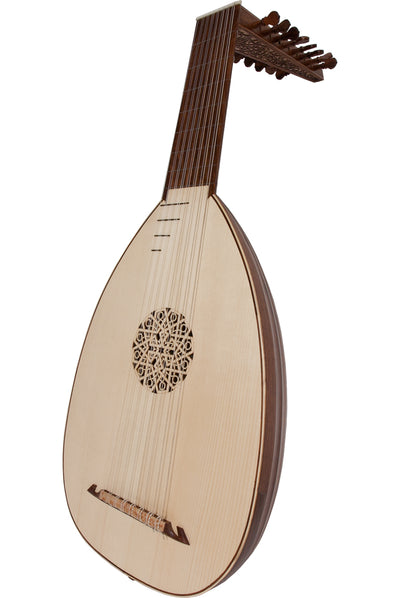 Roosebeck Deluxe 8-Course Lute Sheesham - Lefty - Lutes - LT8DRLN