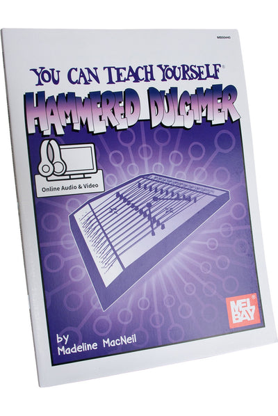 Mel Bay's You Can Teach Yourself Hammered Dulcimer Book With Online Audio & Video by M MacNeil - Hammered Dulcimer Instruction - MB95440