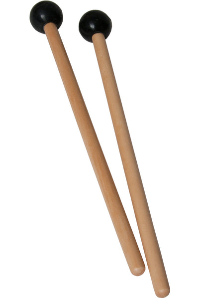 Idiopan 7-Inch Mallets with .75-Inch Ball - Pair - Black - Idiopan Accessories - MLTRSBA