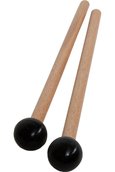 Idiopan 7-Inch Mallets with .7-Inch Ball - Pair - Black - Idiopan Accessories - MLTRSBC