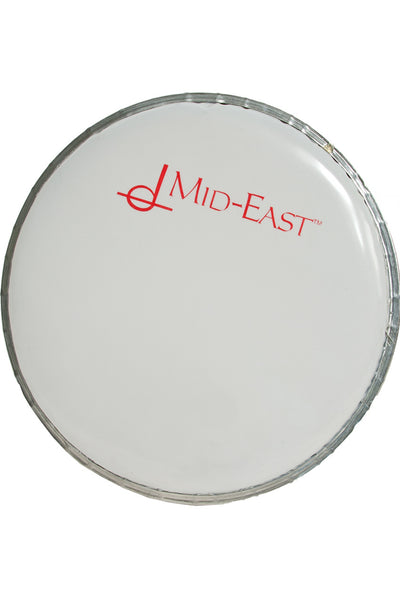 "Mid-East Synthetic Head for Aluminum Doumbek 6.5"" - Doumbek Heads - MSS6"