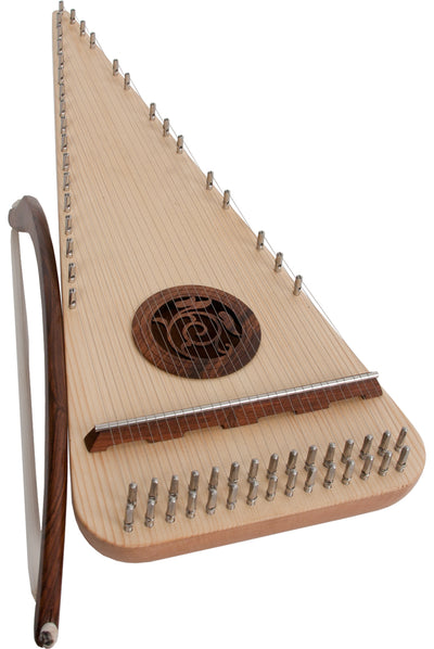 Roosebeck Alto Rounded Psaltery Left-Handed - Psaltery - PSRARL
