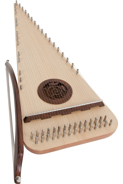 Roosebeck Alto Rounded Psaltery Right-Handed - Psaltery - PSRARR