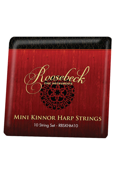 Roosebeck Mini Kinnor Harp 10-String Set - Kinnor Harp Accessories - RBSKHM10
