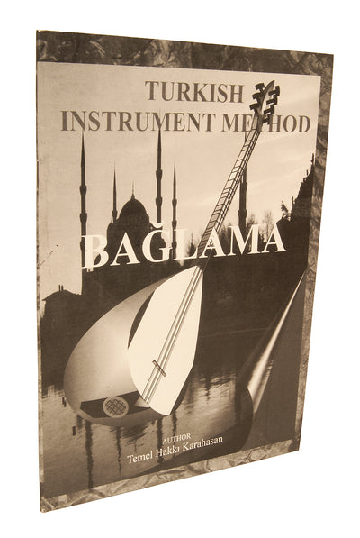 Baglama Saz Book by Temel Hakki Karahasan - Saz Instruction - SAZK