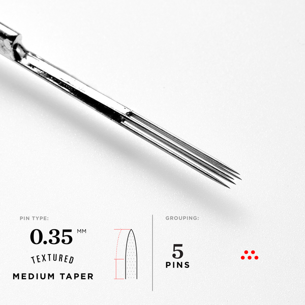 Medium Taper Magnum Tattoo Needles