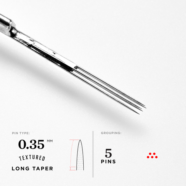 Long Taper Magnum Tattoo Needles