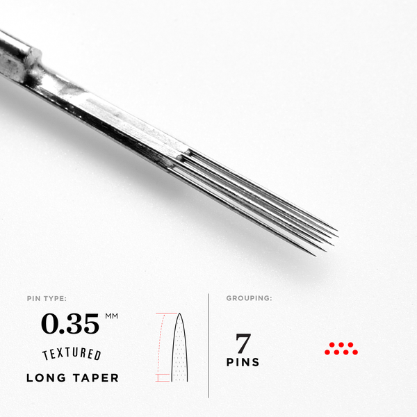 Long Taper Curved Magnum Tattoo Needles