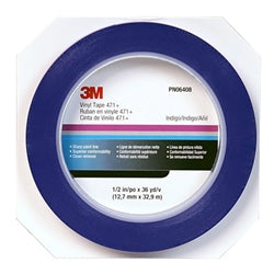 3M™ Vinyl Tape 471+, 1/2 in. x 36 yds.