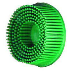 3M™ Scotch-Brite™ Roloc™ Bristle Disc, 2 in. x 5/8 in. Tapered, 50 Grit, 10 pk.