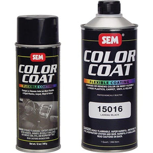 SEM Color Coat™ Gloss Black, 12 oz.