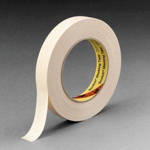 3M™ High Performance Masking Tape 232 Tan, 36 mm x 55 m 6.3 mil