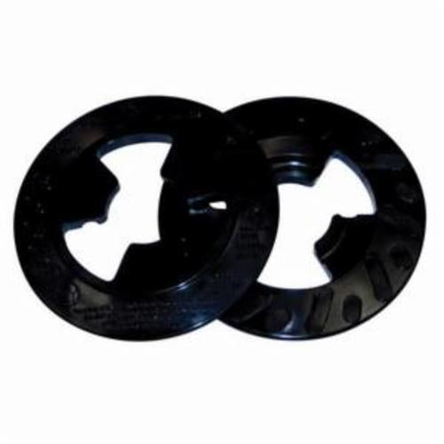 3M™ Disc Pad Face Plate Ribbed, 5 in. Hard Black