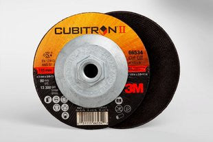 3M™ Cubitron™ II Cut-Off Wheel Quick Change, T27 4-1/2 in. x .125 in. x 5/8-11 in. 25 pk.