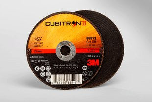 3M™ Cubitron™ II Cut-Off Wheel, T1 3 in. x .035 in. x 1/4 in. 25 pk.