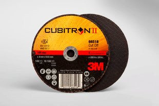 3M™ Cubitron™ II Cut-Off Wheel, T1 4 in. x .035 in. x 3/8 in. 25 pk.