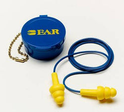 3M™ E-A-R™ UltraFit™ Corded Earplugs, Hearing Conservation 340-4002 in Carrying Case, 200 Pairs