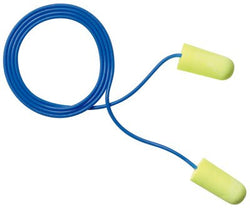 3M™ E-A-Rsoft™ Yellow Neons™ Corded Earplugs 311-1250, in Poly Bag Regular Size, 2000 pk. (1000 Pairs)