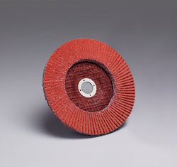 3M™ Flap Disc 747D, T27 7 in. x 7/8 in. 80 Grit, 5 pk.Liquid error (product-grid-item line 33): comparison of String with 0 failed