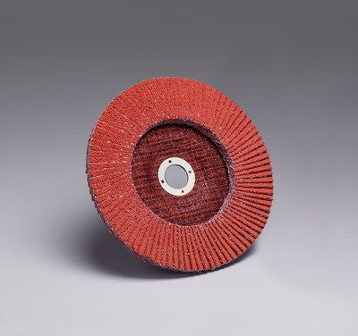 3M™ Flap Disc 747D, T27 7 in. x 7/8 in. 80 Grit, 5 pk.