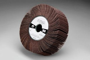 3M™ Flap Wheel 244E, 6 in. x 1 in. x 1 in. 80 Grit, 5 pk.