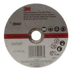 3M™ General Purpose Cut-Off Wheel, 6 in. x .045 in. x 7/8 in. 50 pk.