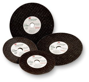 3M™ Green Corps™ Cut-Off Wheel, 3 in. x 1/16 in. x 3/8 in. 50 pk.