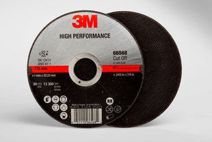3M™ High Performance Cut-Off Wheel T1 , 4-1/2 in. x .045 in. x 7/8 in. 25 pk.