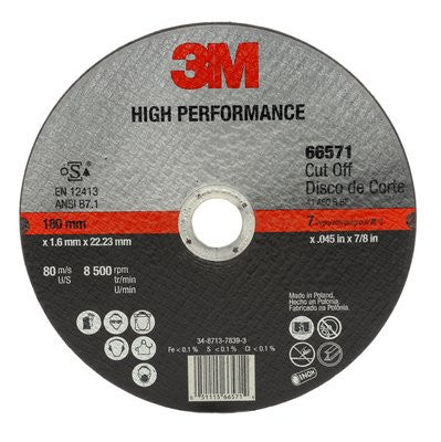 3M™ High Performance Cut-Off Wheel T1, 7 in. x .045 in. x 7/8 in. 25 pk.Liquid error (line 13): comparison of String with 0 failed