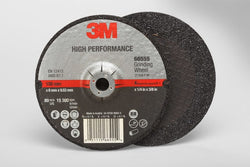 3M™ High Performance Depressed Center Grinding Wheel T27, 4 in. x 1/4 in. x 3/8 in. 25 pk.Liquid error (product-grid-item line 33): comparison of String with 0 failed