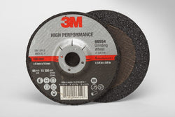 3M™ High Performance Depressed Center Grinding Wheel T27, 4 in. x 1/4 in. x 5/8 in. 25 pk.Liquid error (product-grid-item line 33): comparison of String with 0 failed