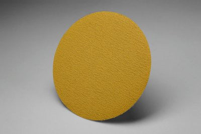3M™ Hookit™ Gold Film Disc 255L, 6 in. x NH P320 Grit, 100 pk.