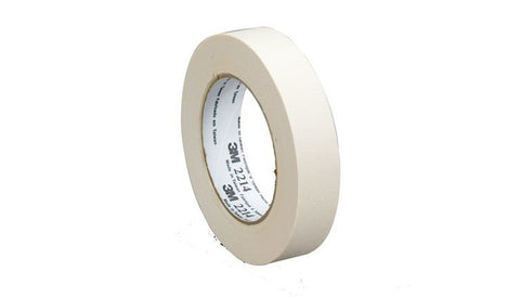 3M™ Paper Masking Tape 2214 Tan, 36 mm x 55 m 5.4 mil, 24 pk.