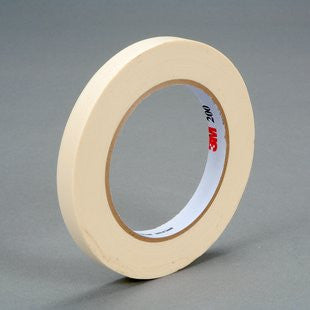 3M™ Paper Tape 200 Tan, 12 mm x 55 m 4.4 mil, 72 pk.