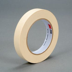 3M™ Paper Tape 200 Tan, 18 mm x 55 m 4.4 mil, 48 pk.Liquid error (product-grid-item line 33): comparison of String with 0 failed