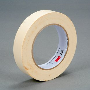 3M™ Paper Tape 200 Tan, 24 mm x 55 m 4.4 mil, 36 pk.