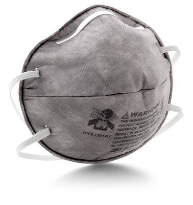 3M™ Particulate Respirator, R95, with Nuisance Level Organic Vapor Relief, 120 pk.