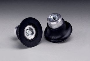 3M™ Roloc™ TS and TSM Hard Black 1-1/2 in. Disc Pad, 1/4-20 Internal Thread Attachment, 5 pk.