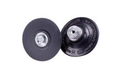 3M™ Roloc™ TS and TSM Hard Black 3 in. Disc Pad, 1/4-20 Internal Thread Attachment, 5 pk.