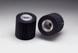 3M™ Rubber Slotted Expander Wheel, 3 in. x 3 in. 5/8-11 Internal