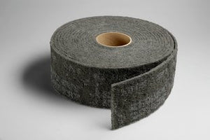 3M™ Scotch-Brite™ Clean and Finish Roll, 4 in. x 30 ft. Silicon Carbide, Very Fine