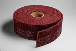 3M™ Scotch-Brite™ Clean and Finish Roll, 6 in. x 30 ft. Aluminum Oxide, MediumLiquid error (product-grid-item line 33): comparison of String with 0 failed
