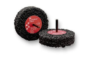 3M™ Scotch-Brite™ Clean and Strip Disc D2, 4 in. x 1 in. x 1/4 in. Extra Coarse, 10 pk.