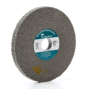 3M™ Scotch-Brite™ EXL Deburring Wheel, 6 in. x 1/2 in. x 1 in. Fine, 4 pk.