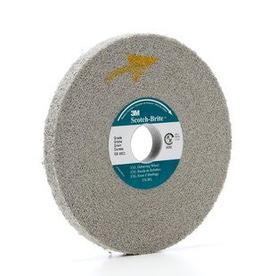 3M™ Scotch-Brite™ EXL Deburring Wheel, 6 in. x 1/2 in. x 1 in. Medium, 4 pk.