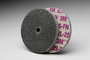 3M™ Scotch-Brite™ EXL Unitized Wheel, 3 in. x 1/4 in. x 3/8 in. 2S Fine, 40 pk.