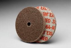 3M™ Scotch-Brite™ EXL Unitized Wheel, 3 in. x 1/4 in. x 3/8 in. 6A Medium, 40 pk.Liquid error (product-grid-item line 33): comparison of String with 0 failed
