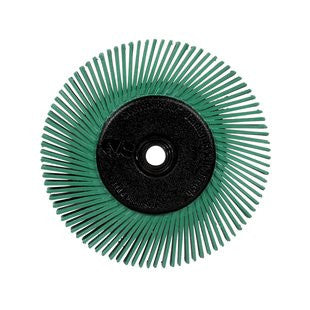 3M™ Scotch-Brite™ Radial Bristle Brush, 6 in. x 1/2 in. x 1 in. 50 With Adapter, 5 pk.
