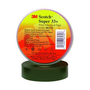 3M™ Scotch® Super 33+ Vinyl Electrical Tape, 3/4 in. x 66 ft. 10 pk.