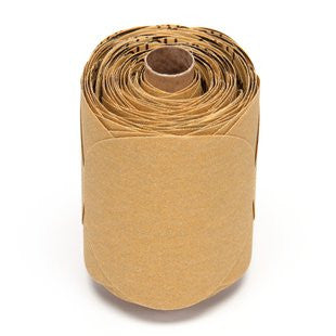 3M™ Stikit™ Gold Paper Disc Roll 216U, 5 in. x NH P100 Grit, 125 Discs (1 Roll)